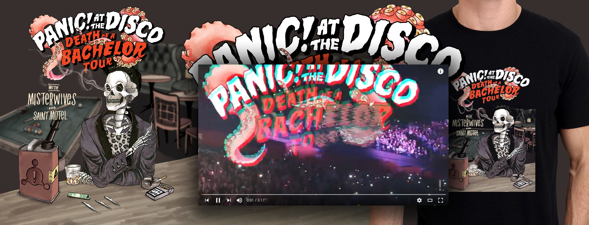 theblakewright-panicatthedisco-THE-DEATH-OF-A-BACHELOR-TOUR